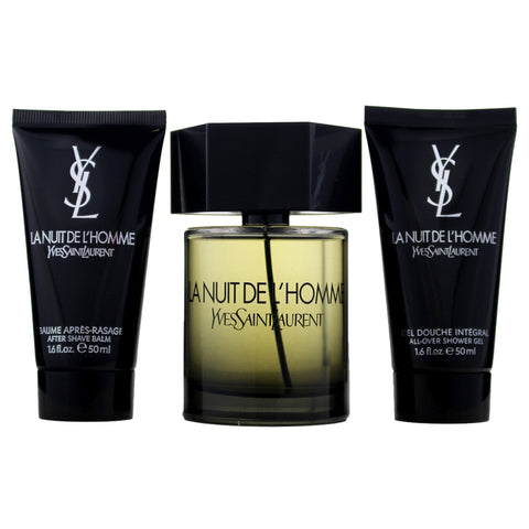 LHGS9M - La Nuit De L'Homme 3 Pc. Gift Set for Men