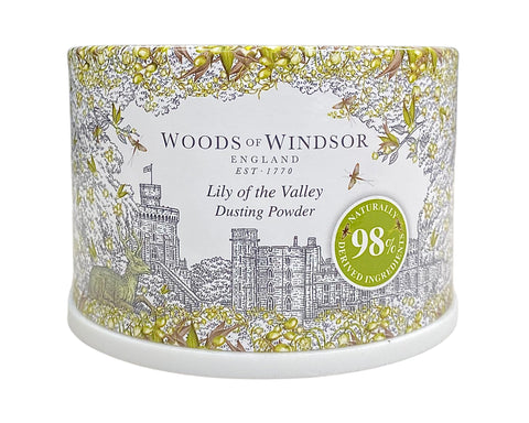 LIL35-P - Lily Of The Valley. Dusting Powder for Women - 3.5 oz / 105 ml