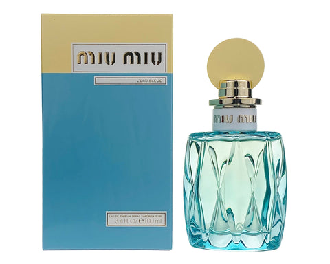 MMB34 - Miu Miu L'Eau Bleue Eau De Parfum for Women - 3.4 oz / 100 ml