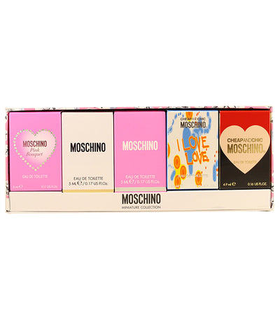 MSC5 - Moschino Variety 5 Pc. Gift Set for Women