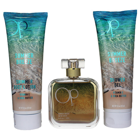 OPSB4 - Op Summer Breeze 3 Pc. Gift Set for Women