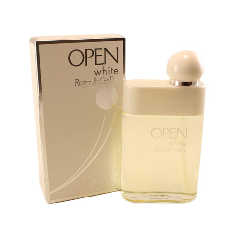 OPW01M - Roger & Gallet Open White Eau De Toilette for Men - 3.3 oz / 100 ml - Spray