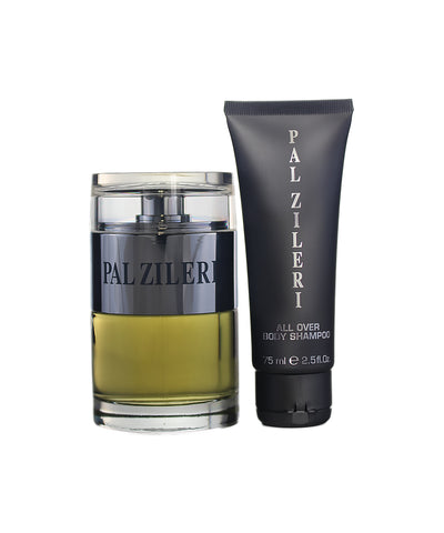 PALZ16M - Pal Zileri Pal Zileri 2 Pc. Gift Set ( 1 x EDT Spray 3.4 oz + 1 x Pal Zileri All Over Body Shampoo 2.5 oz )