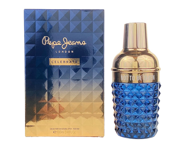 PCL34M - Pepe Jeans Celebrate for Him Eau De Parfum for Men - 3.4 oz / 100 ml - Spray