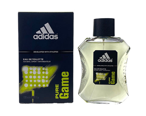 PG69M - Adidas Pure Game Eau De Toilette for Men - 3.4 oz / 100 ml - Spray