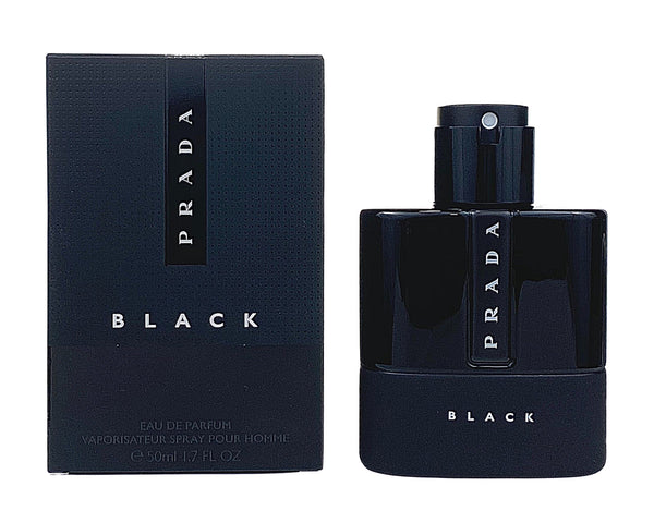 PLB17M - Prada Luna Rossa Black Eau De Parfum for Men - 1.7 oz / 50 ml - Spray