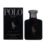 POB9M - RALPH LAUREN Polo Black Eau De Toilette for Men - 2.5 oz / 75 ml