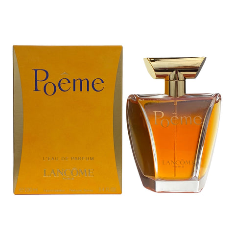 POL34 - Lancome Poeme Eau De Parfum for Women - 3.4 oz / 100 ml