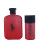 POR48M - Ralph Lauren Polo Red 2 Pc. Gift Set for Men