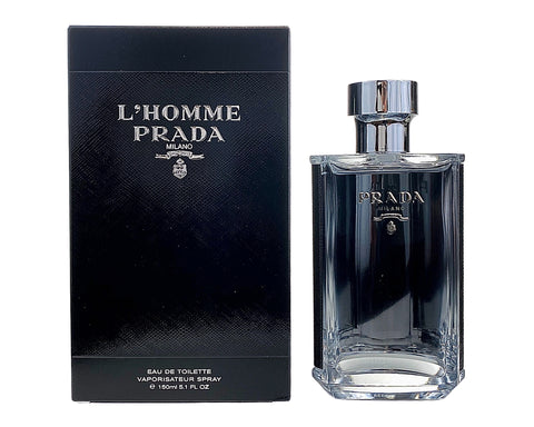 PRH51M - L'Homme Prada Eau De Toilette for Men - 5.1 oz / 150 ml - Spray