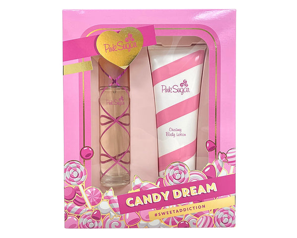 PSCD2 - Aquolina Pink Sugar Candy Dream 2 Pc. Gift Set for Women