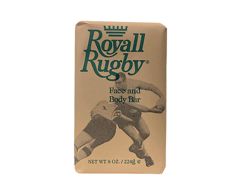 RR8M - Royall Rugby Face & Body Soap for Men - 8 oz / 240 ml