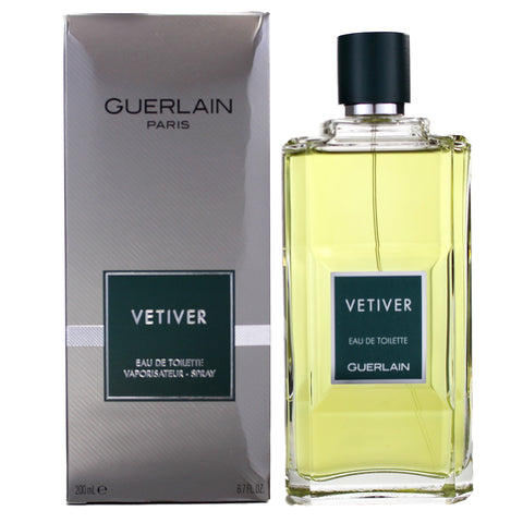 VE70M - Vetiver Guerlain Eau De Toilette for Men - 6.8 oz / 200 ml Spray