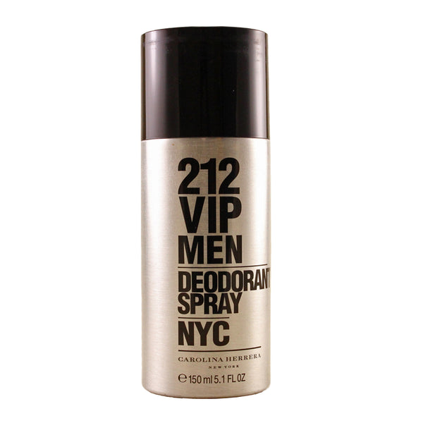 VIP51M - Carolina Herrera 212 Vip Men Nyc Deodorant Spray  for Men - 5.1 oz / 150 ml - Spray