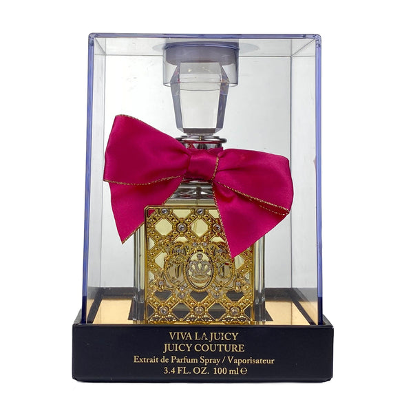 VJE34 - Juicy Couture Viva La Juicy Extrait de Parfum for Women - 3.4 oz / 100 ml - Spray - Limitied Edition