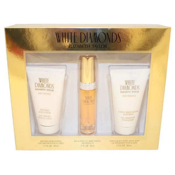 WH410 - Elizabeth Taylor Perfume 3 Piece Gift Set WH410