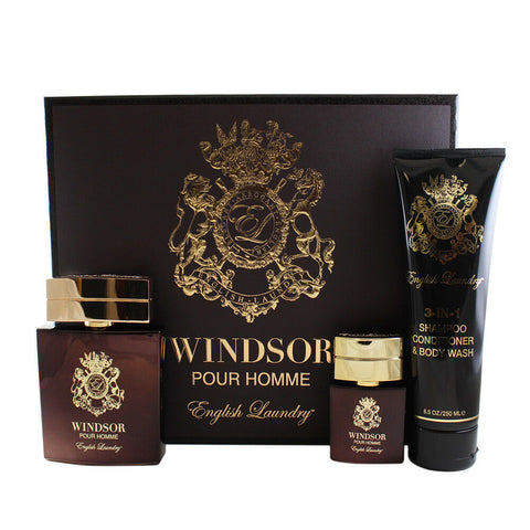WIN35M - Windsor Pour Homme 3 Pc. Gift Set for Men