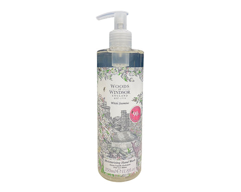 WJ118 - Woods of Windsor White Jasmine Moisturising Hand Wash for Women - 11.8 oz / 350 ml