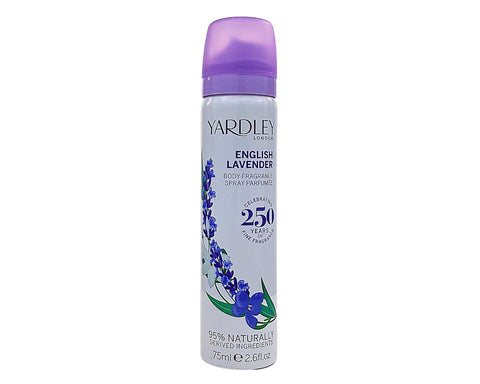 YAR26 - English Lavender Body Spray for Women - 2.6 oz / 75 ml