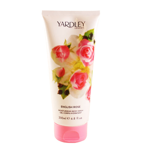 YAR34 - Yardley English Rose Body Wash for Women - 6.8 oz / 200 g