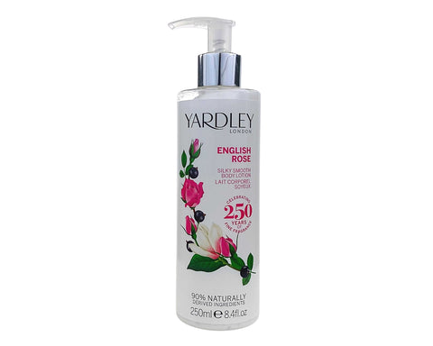 YAR36 - Yardley English Rose Body Lotion for Women - 8.4 oz / 250 g