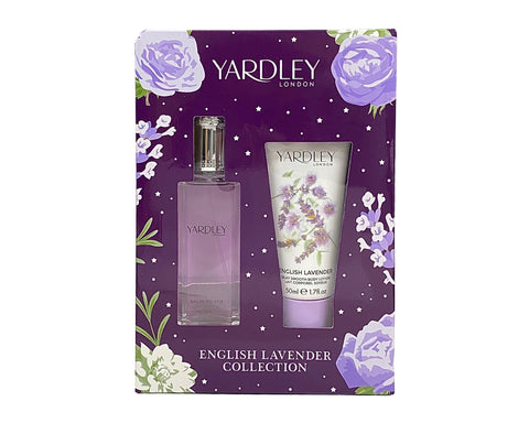 YARY2 - 	Yardley English Lavender 2 Pc. Gift Set for Women