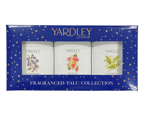 YRT3 - Yardley Fragranced Talc Collection 3 Pc. Gift Set for Women