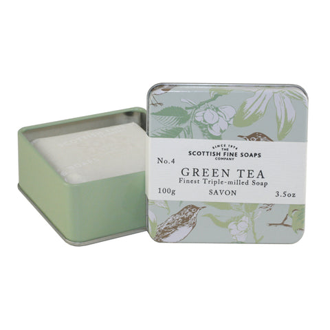 SFS13 - Green Tea Soap Soap for Women - 3.5 oz / 105 ml