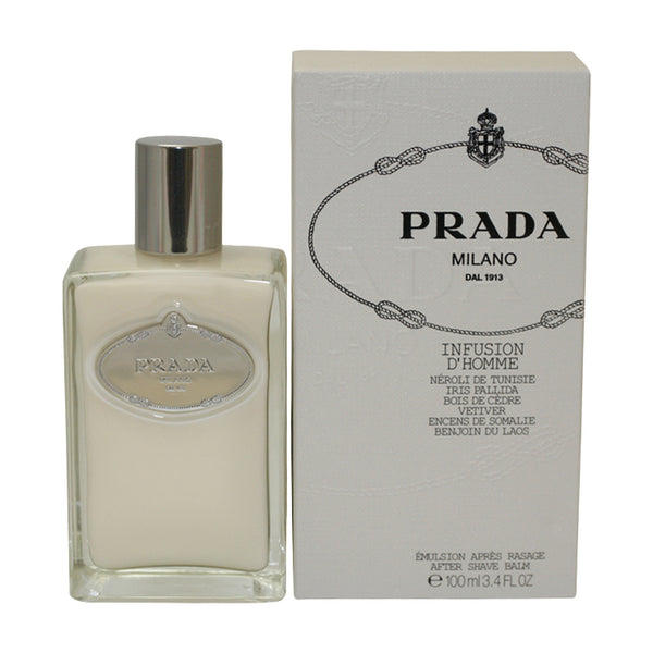 PRAD21M - Prada Infusion D'Homme Aftershave for Men - Balm - 3.4 oz / 100 ml