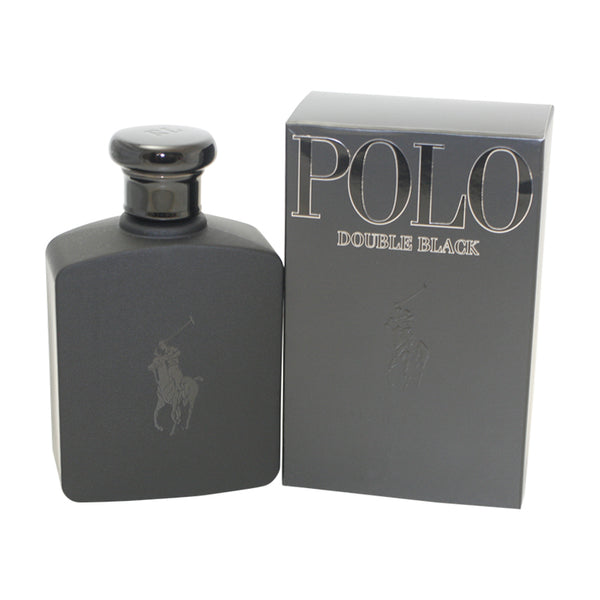 POB13M - Polo Double Black Aftershave for Men - 4.2 oz / 125 ml