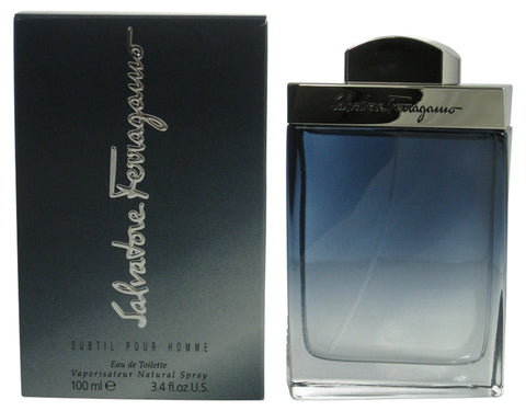 SA22M - Subtil Pour Homme Eau De Toilette for Men - 3.4 oz / 100 ml Spray