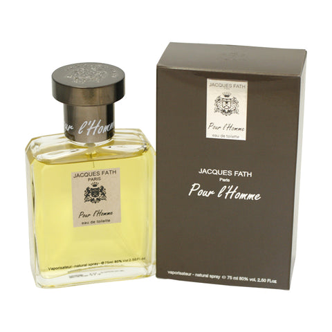 JAH09 - Jacques Fath Pour L'Homme Eau De Toilette for Men - Spray - 2.5 oz / 75 ml