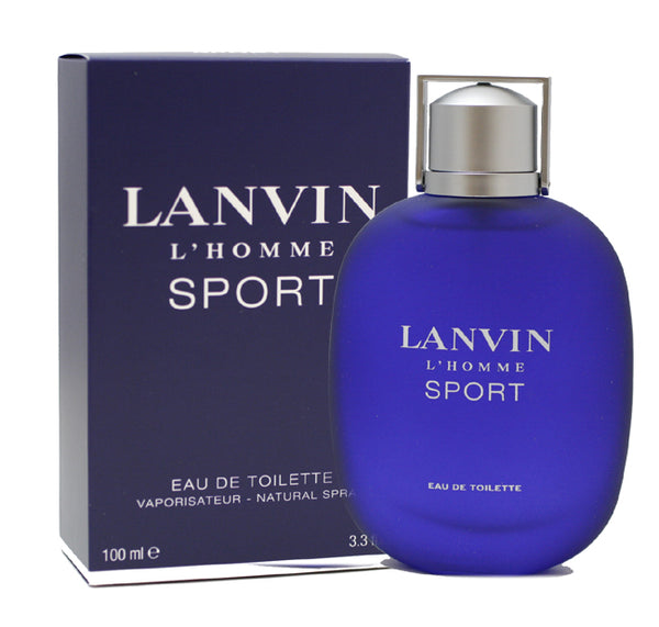 LAS5M - Lanvin L' Homme Sport Eau De Toilette for Men - 3.3 oz / 100 ml Spray