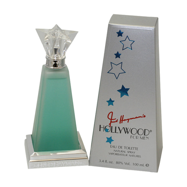 HO02M - Hollywood Eau De Toilette for Men - 3.4 oz / 100 ml Spray