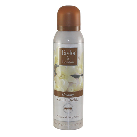 TOVO10 - Taylor Of London Vanilla Orchid Body Spray for Women - 5.1 oz / 150 g