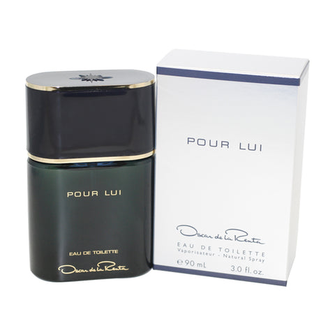 OS62M - Oscar Pour Lui Eau De Toilette for Men - Spray - 3 oz / 90 ml
