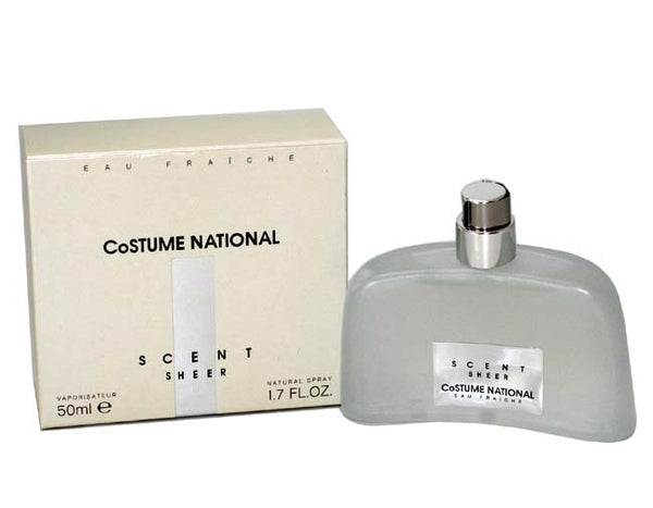 COS14W - Costume National Scent Sheer Eau Fraiche for Women - Spray - 1.7 oz / 50 ml