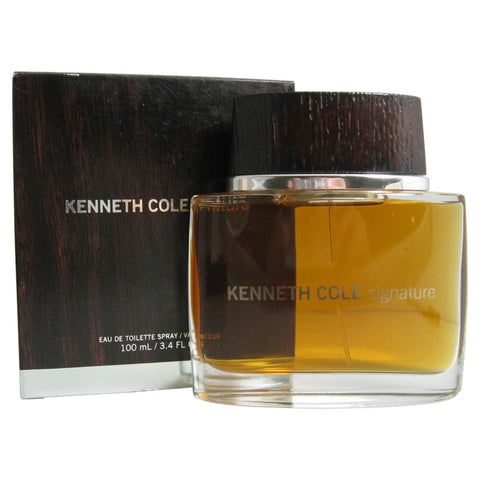SIG3M - Kenneth Cole Signature Eau De Toilette for Men - 3.4 oz / 100 ml Spray