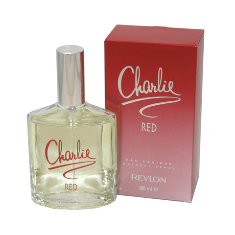CH63 - Charlie Red Eau Fraiche for Women - 3.4 oz / 100 ml