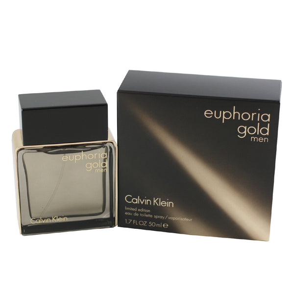 EUG10M - Euphoria Gold Eau De Toilette for Men - Spray - 1.7 oz / 50 ml