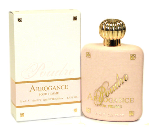 ARP28 - Arrogance Poudre Eau De Toilette for Women - Spray - 2.5 oz / 75 ml