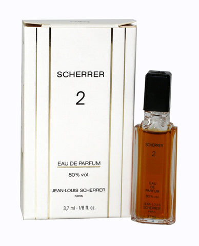 SC18 - Jean Louis Scherrer Scherrer 2 Eau De Parfum for Women | 0.13 oz / 3.7 ml (mini)