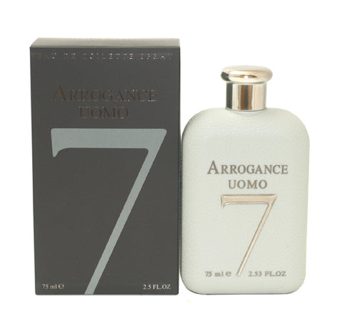ARR96M - Arrogance Uomo 7 Eau De Toilette for Men - 2.5 oz / 75 ml Spray