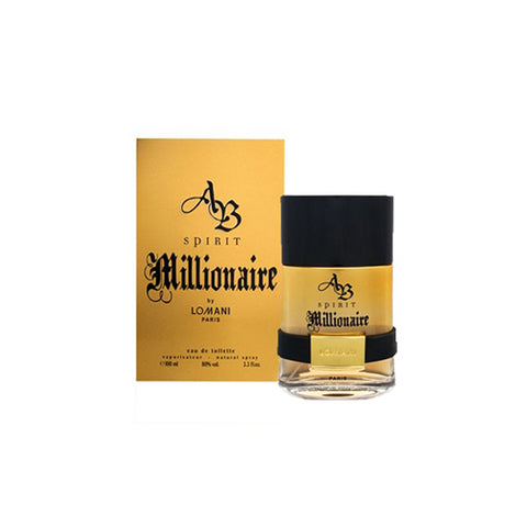 ABSM52M - Ab Spirit Millionaire Eau De Toilette for Men - 3.3 oz / 100 ml Spray