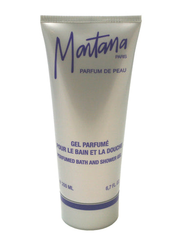 MO56 - Montana Parfum De Peau Bath & Shower Gel for Women - 6.7 oz / 200 ml