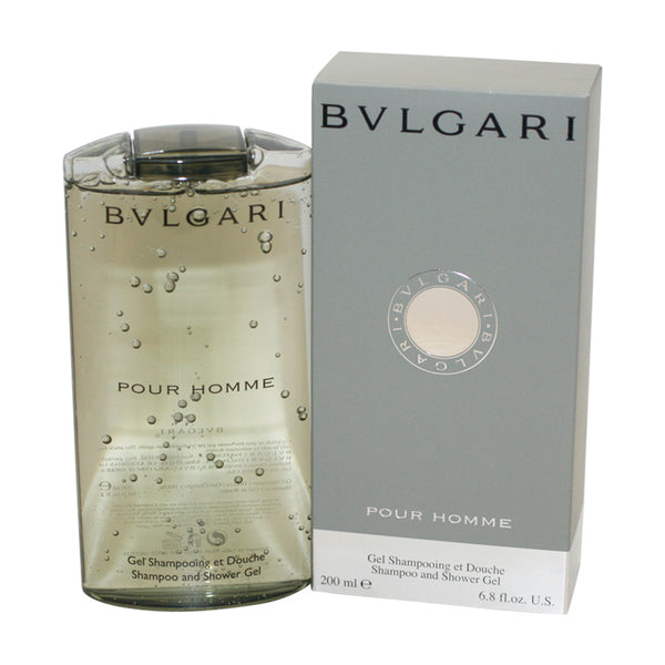 BV69M - Bvlgari Pour Homme Shampoo & Shower Gel for Men - 6.8 oz / 200 ml
