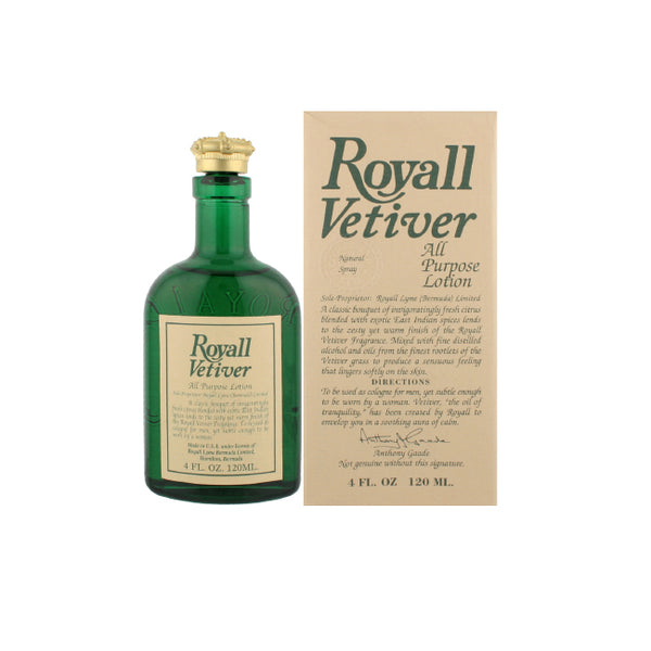 RO98M - Royall Vetiver Body Lotion for Men - 4 oz / 120 g