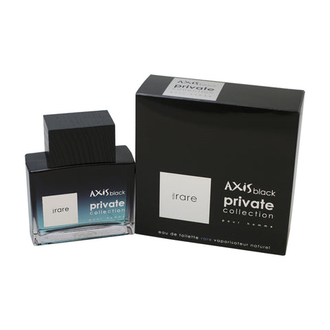 AXB13M - Axis Black Eau Rare Eau De Toilette for Men - Spray - 3.3 oz / 100 ml