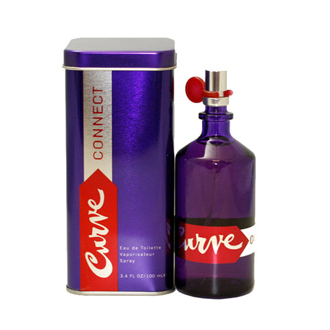 CRU19 - Curve Connect Eau De Toilette for Women - 3.4 oz / 100 ml Spray