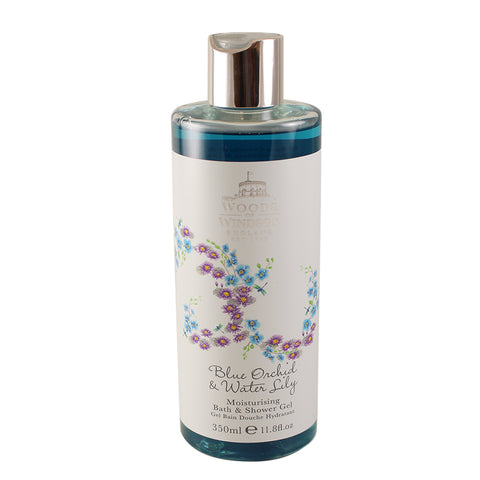 BOL12 - Blue Orchid & Water Lily Bath & Shower Gel for Women - 11.8 oz / 350 g